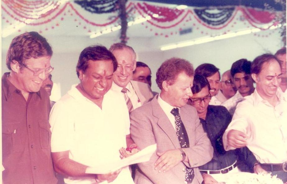 Dr. M at Launch of the Modi-Xerox manufacturing facility in Uttar Pradesh