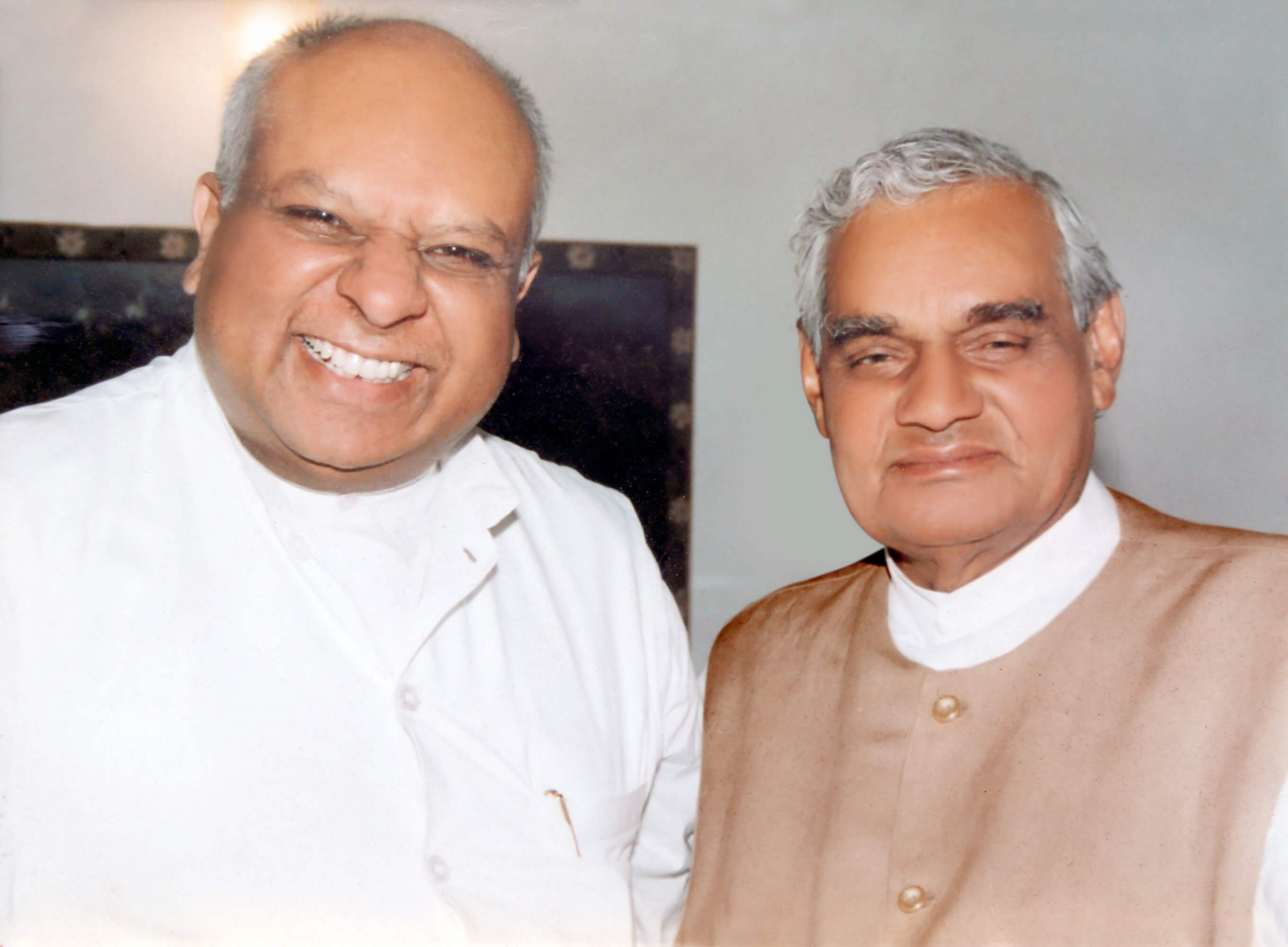 Dr. M with Atal Bihari Vajpayee (Former Prime Minister of India)