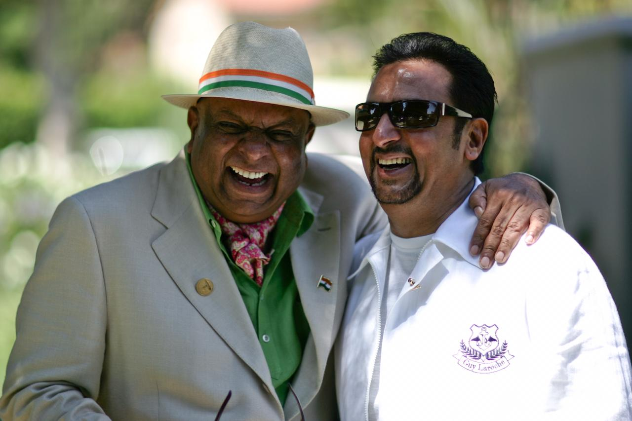 Dr. M with Gulshan Grover at India Splendour Event in USA