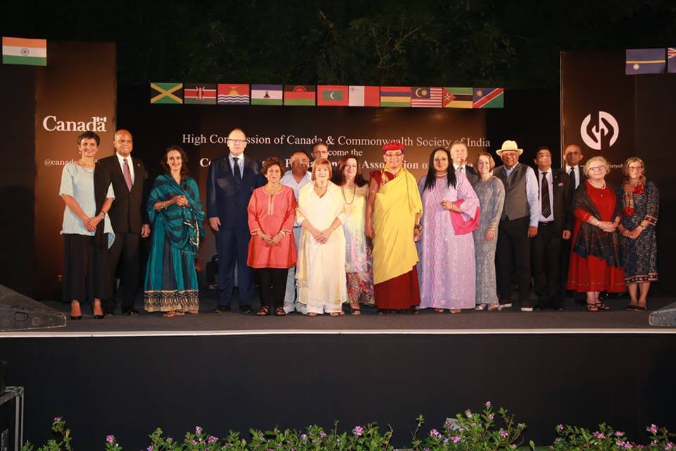 Dr. M with Commonwealth Ambassadors in London United Kingdom