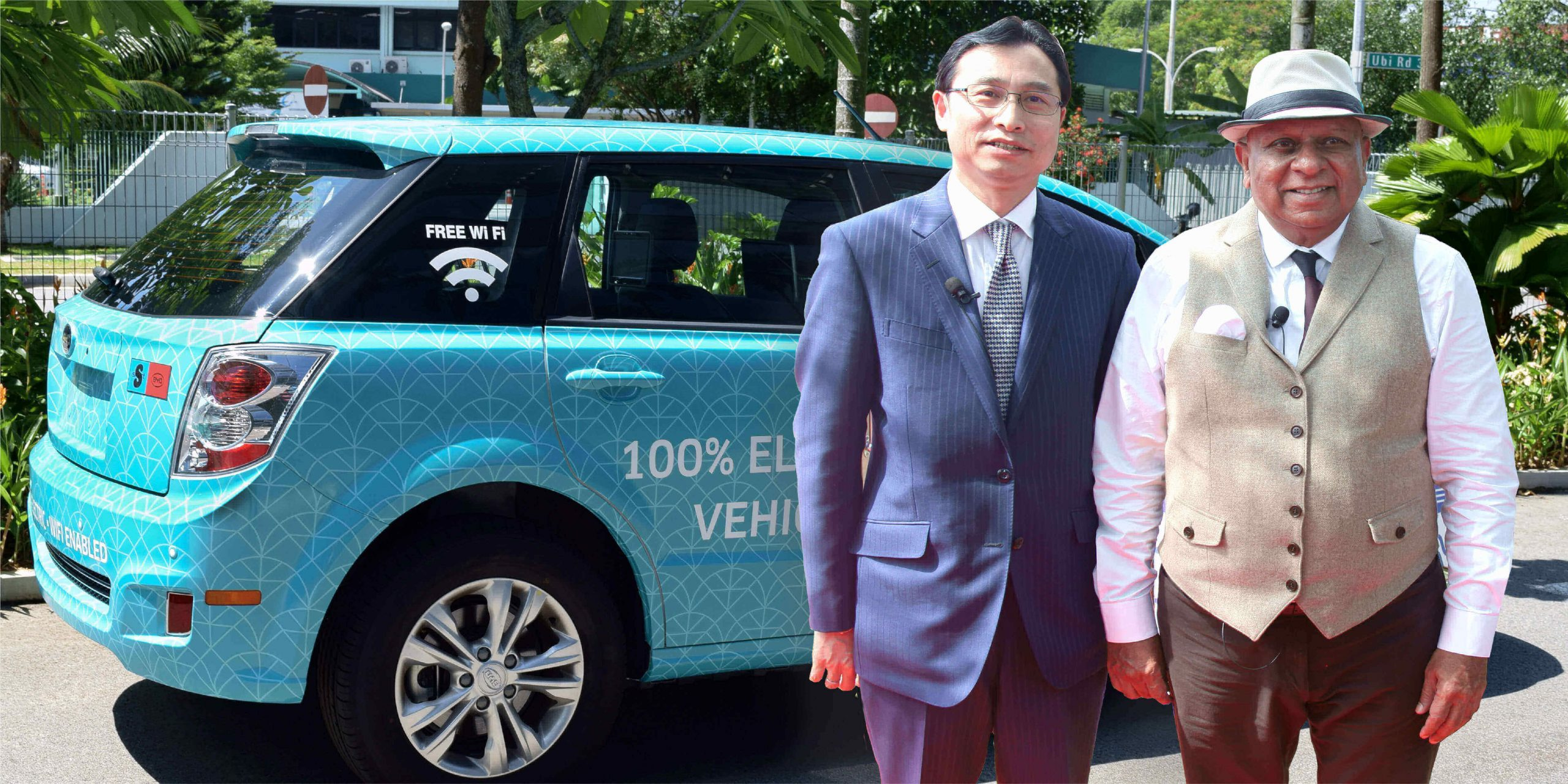 Dr. M with Liu Xueliang Managing Director of BYD India