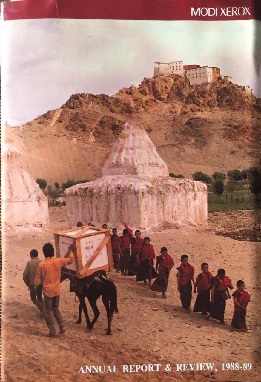 Cover of the Modi Xerox Annual Report