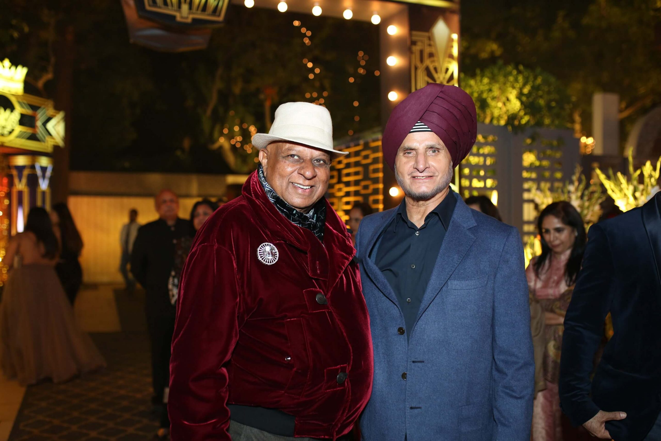 Dr. M with Onkar Kanwar Managing Director Apollo Tyres