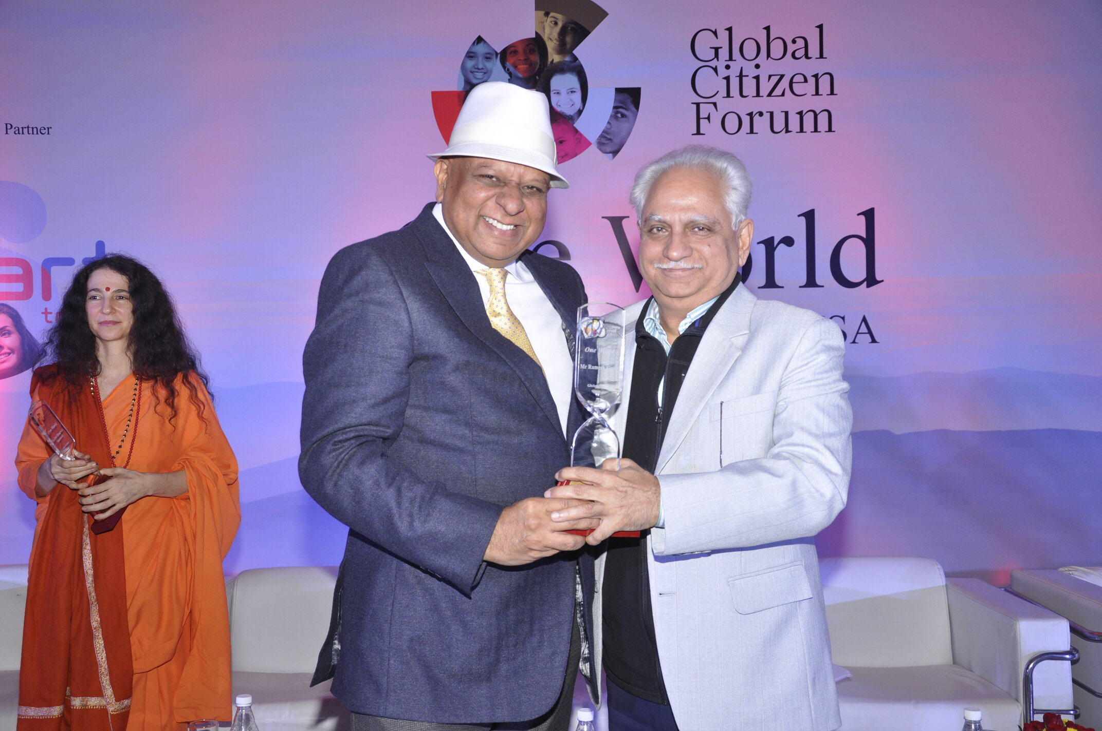 Dr. M with Bollywood Director Ramesh Sippy