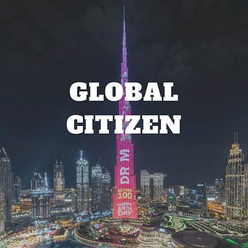 Dr. M Global Citizen